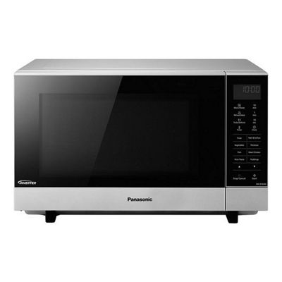 Panasonic Flatbed 1000w Microwave Oven 27l Silver