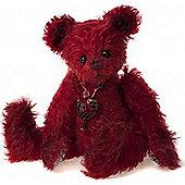 Charlie Bears Minimo Cherry 17cm Mohair Teddy Bear