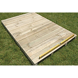 Store More Timber 8x4 Floor Kit (compatable with Lotus Pent Metal Sheds Only)
