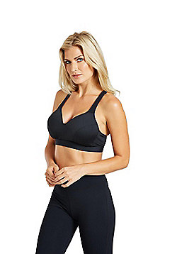 Zakti GO THE DISTANCE SPORTS BRA - Black