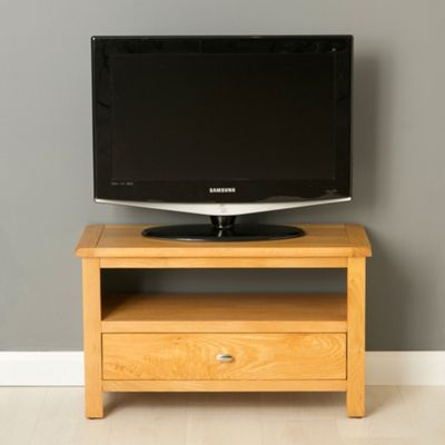 Poldark Oak Small TV Stand - Light Oak