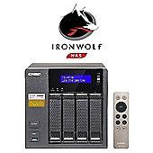 QNAP TS-453A-8G/40TB-IW 4-Bay 40TB(4x10TB Seagate IronWolf) Network Attached Storage