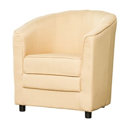 Sofa Collection Ardennes Fabric Tub Chair - Beige