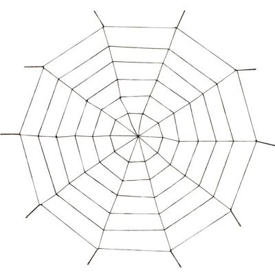 Halloween Props Giant Rope Web - 1.5m