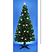 Pre Decorated Christmas Tree - 6ft - 180cm