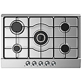 Cookology GH750SS | 75cm Built-in 5 Burner Gas Hob in Stainless Steel & LPG Jets