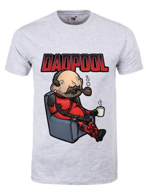 Men's Dadpool T-shirt Grey
