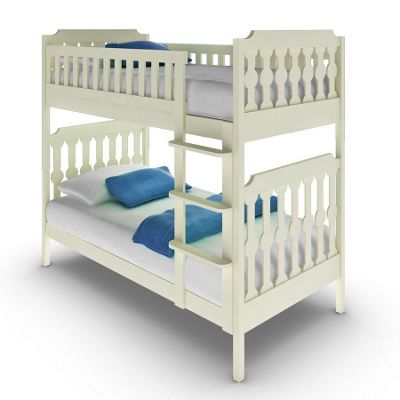 Sugar & Spice Bunk Bed - White