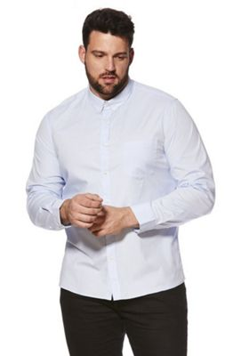 Jacamo Button-Down Collar Shirt Blue 3XL