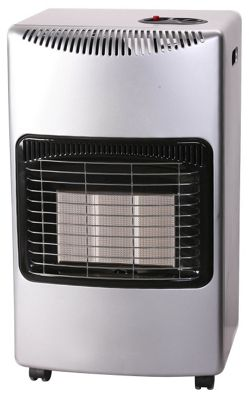 Igenix 4. 2kw gas heater silver.