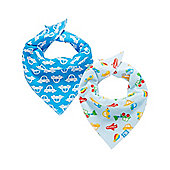 B Newborn's Transport Dribbler Bibs - 2 Pack