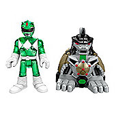 Imaginext Power Rangers Battle Armor Ranger Green