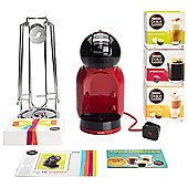 Nescafe Dolce Gusto Mini Me Red and Black Bundle
