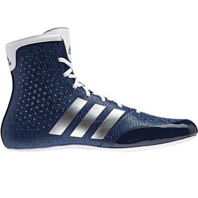 adidas KO Legend 16.2 Boxing Trainer Shoe Boot Blue/White - UK 8