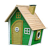 Whacky Ranch Wooden Playhouse Children's Painted Wendy House