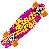 Mindless Longboards ML5150 Daily 24/7 Pink/Yellow Stained Complete Cruiser Board