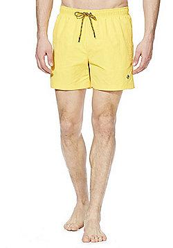 F&F Plain Quick Dry Swim Shorts - Yellow