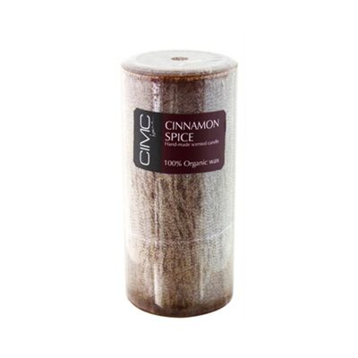 Cinnamon Spice Scented Slim Pillar Candle