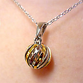Sphere of Life Cute - Light My Fire Silver Necklace