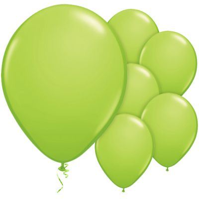 Lime Green 11 inch Latex Balloons - 25 Pack