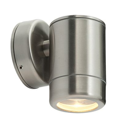 Odyssey 1 Light 35W Wall Light Brushed Stainless Steel