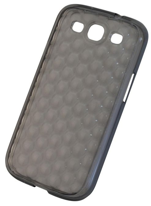 Tortoise™ Soft Gel Case Samsung Galaxy SIII Raindrop Black