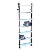 Matrix - Wall Mounted Glass Cd / Media / Storage Shelves - White