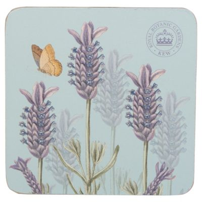 Set of 6 Kew Lavender Coasters