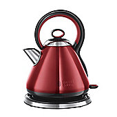 Russell Hobbs 21881 Legacy Kettle, 1.7L - Metallic Red