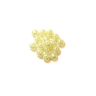 Craft Factory Pearls 8mm Cream