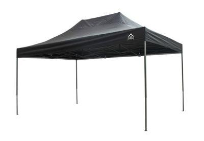 All Seasons Gazebos, Heavy Duty, Fully Waterproof, 3m x 4.5m Pop up Gazebo in Black