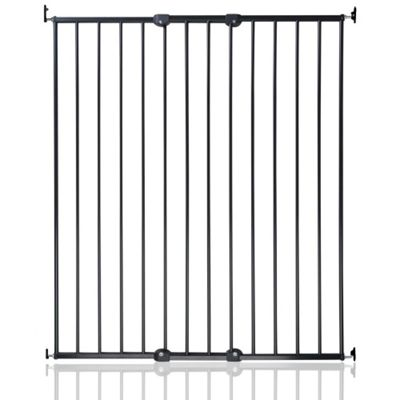 Safetots Extra Tall Screw Fitted Baby Stair Gate Black