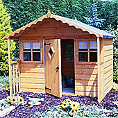 6 x 5 Wooden Playhouse 6ft x 5ft (1.83m x 1.54m)