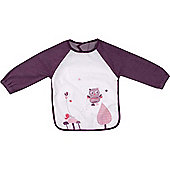 Badabulle Long-Sleeved Bib (Gourmet Rose)