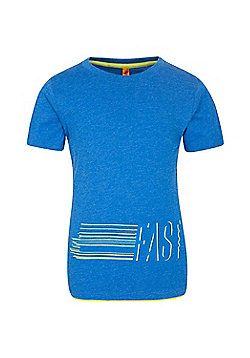 Mountain Warehouse FAST BOYS PRINTED TEE - Blue