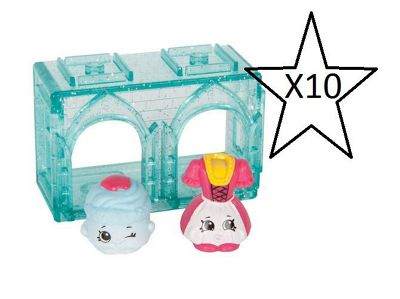 Shopkins Series 8 World Vacation 2 Pack - 10 Packs Supplied