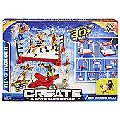 WWE Create a WWE Superstar Ring Builder Playset