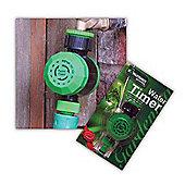 Automatic Mechanical Water Timer Dial Garden Hose Sprinkler Irrigation Control