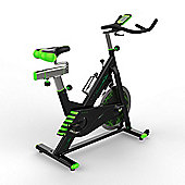 We R Sports RevXtreme VenomX Indoor Cycle Studio Exercise Bike with 22KG Flywheel Green