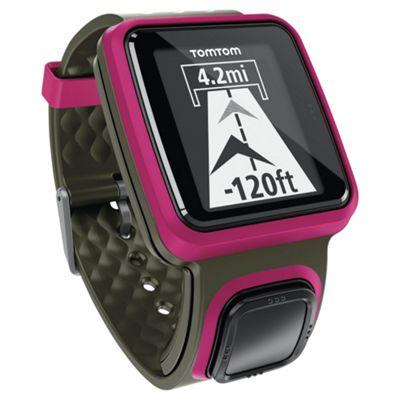 TomTom Runner GPS Watch - Dark Pink