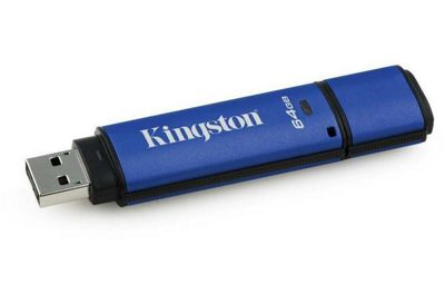 64GB Kingston DTVP30 Management Ready USB 3.0 Flash Drive