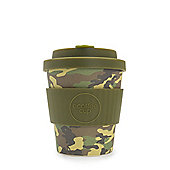 Ecoffee Cup Mike and Eric with Khaki Silicone 8oz