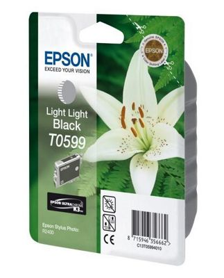 Epson T0599 Light Light Black Ink Cartridge C13T05994010