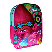 Trolls 'Poppy' Girls Arch Large School Bag Rucksack Backpack