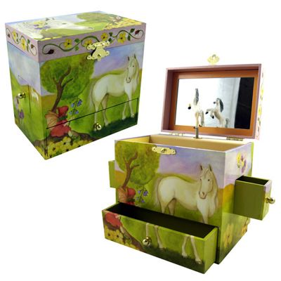 Girls Jewellery Boxes - Horse Fairy | Children's Gifts