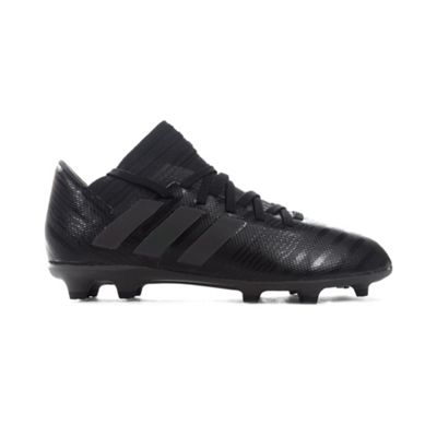 adidas Nemeziz 17.3 FG Kids Football Boot Black/Black Nite Crawler - UK 1