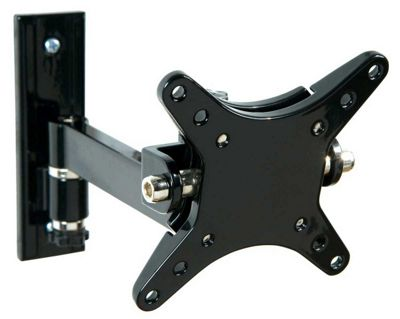 LEVV Tilt and Swivel Bracket For 10 inch to 23 inch TVs