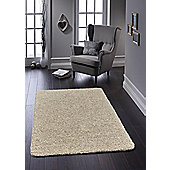 Buddy Washable Shaggy Stain Free 100x150 Stone