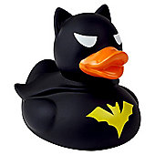Lilalu Black Dark Bat Rubber Duck Bathtime Toy