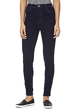 F&F High Rise Skinny Jeans - Indigo
